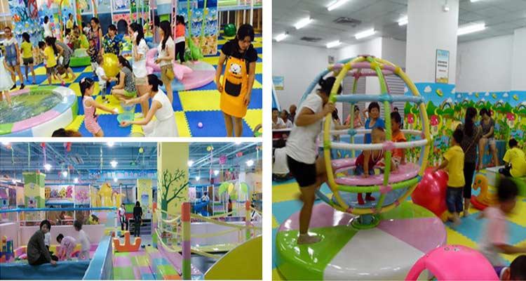 儿童室内游乐场设备报价是多少?