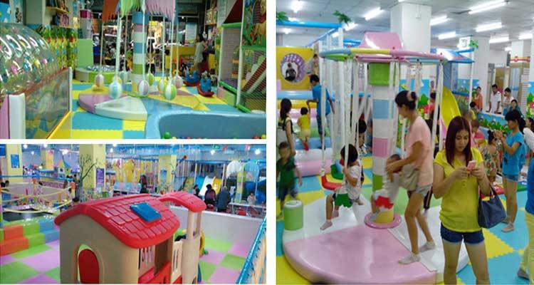 儿童室内游乐场项目投资有哪些设备?