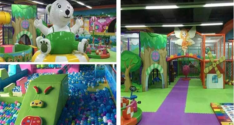 小型室内儿童游乐园