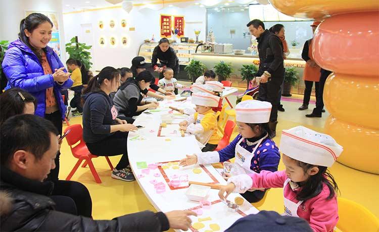開心小鎮兒童烘焙樂園專屬于孩子的快樂廚房