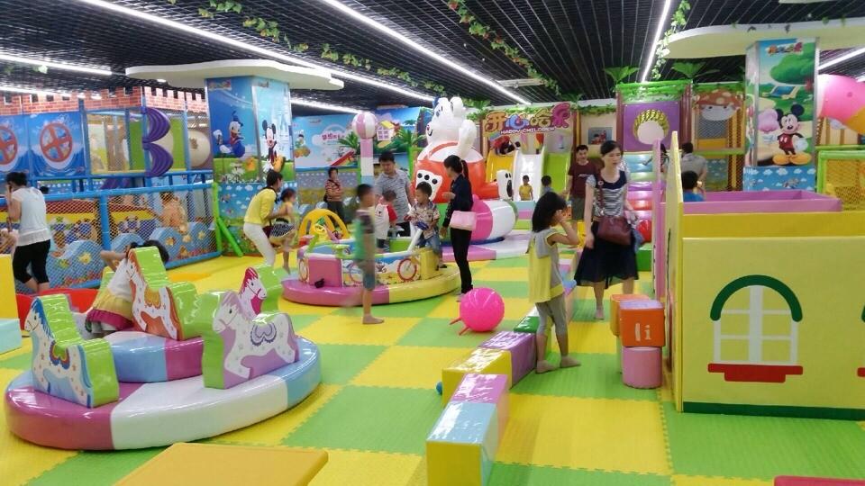 怎样装修室内儿童乐园才能让孩子喜欢