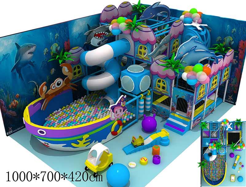 开心玩国室内儿童乐园装修效果图
