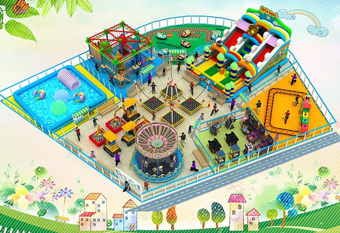 开一个室内儿童乐园需要多少钱