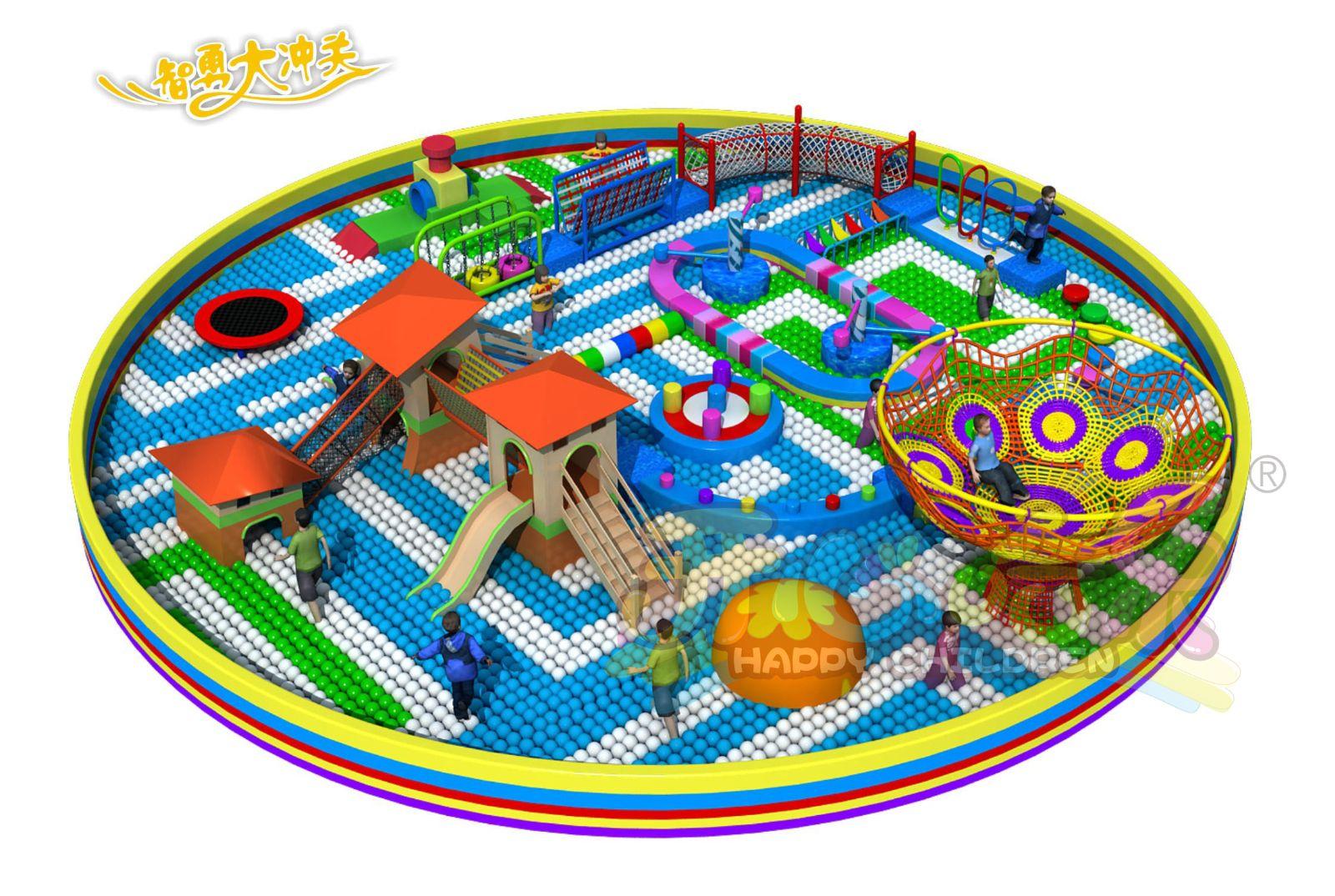开个小室内儿童乐园多少钱?儿童游乐园投资费用主要是哪些?