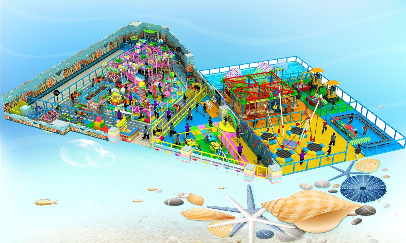 室内大型儿童游乐园