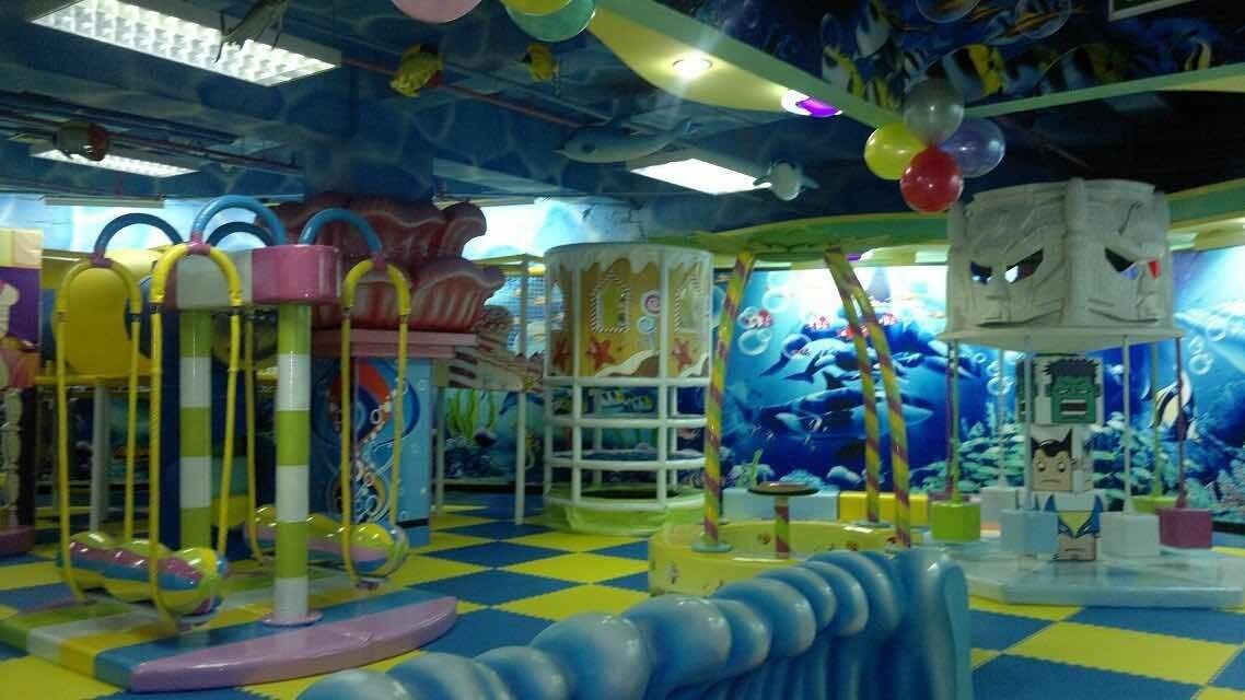 儿童室内游乐场投资多少钱