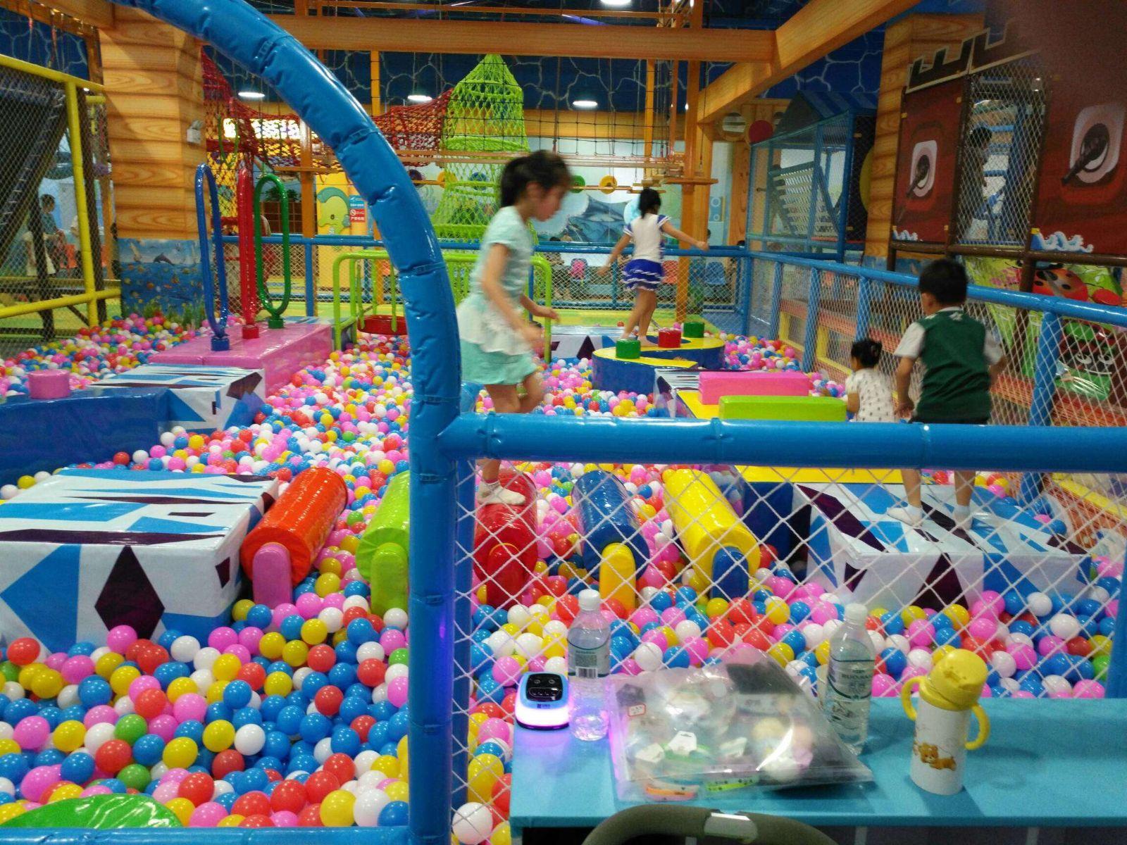 室内儿童游乐场环境怎么定位